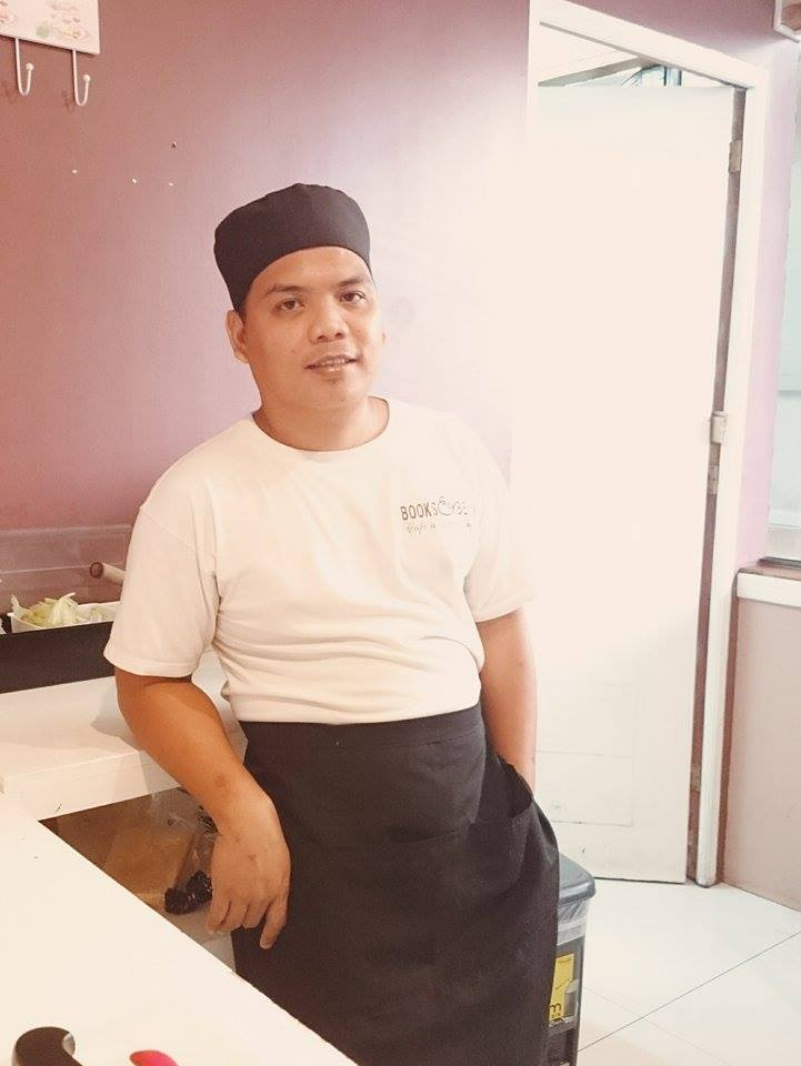 Clark, Books  Beans Lead Chef
